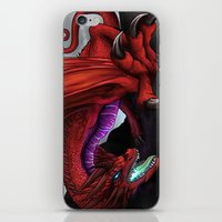 Red Wryven iPhone & iPod Skin
