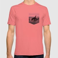 Willy Mens Fitted Tee Pomegranate SMALL