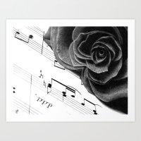Music of Passion Art Print