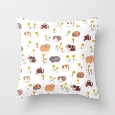 Guinea Pigs Throw Pillow