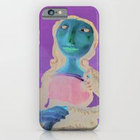 iPhone & iPod Case featuring MonaLisa by GalaArt