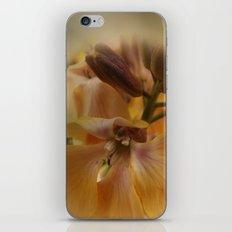 orange flowerpower iPhone & iPod Skin