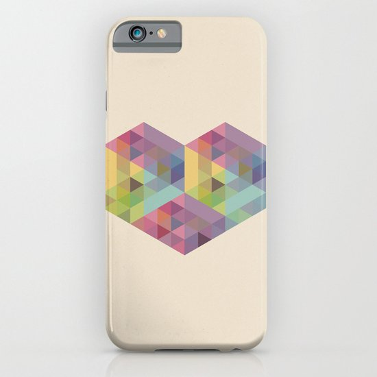 Fig. 028 - Heart & Hexagons iPhone & iPod Case