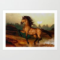 Prairie dancer Art Print