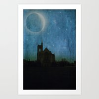 Holy Night Art Print