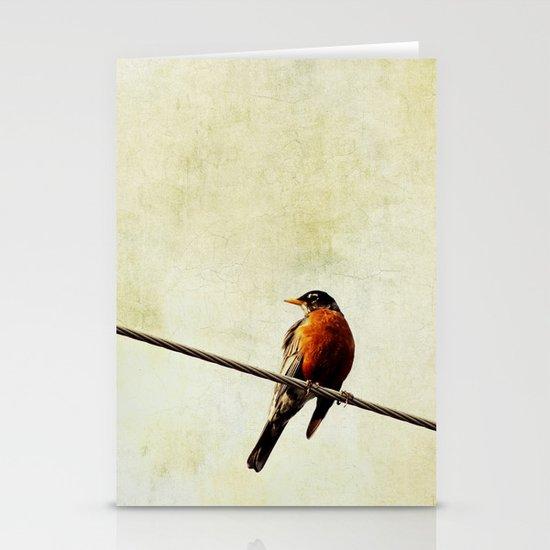 Robin Stationery Card
