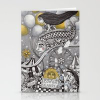 Roller Coaster Ride Stationery Cards