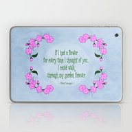 Laptop & iPad Skin featuring Cherry Blossom II (in Me… by Alice Gosling