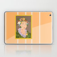Flora by  Giuseppe Arcimboldo Laptop & iPad Skin