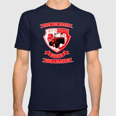traktor Mens Fitted Tee Navy SMALL