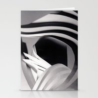 Paper Sculpture #4 Stationery Cards