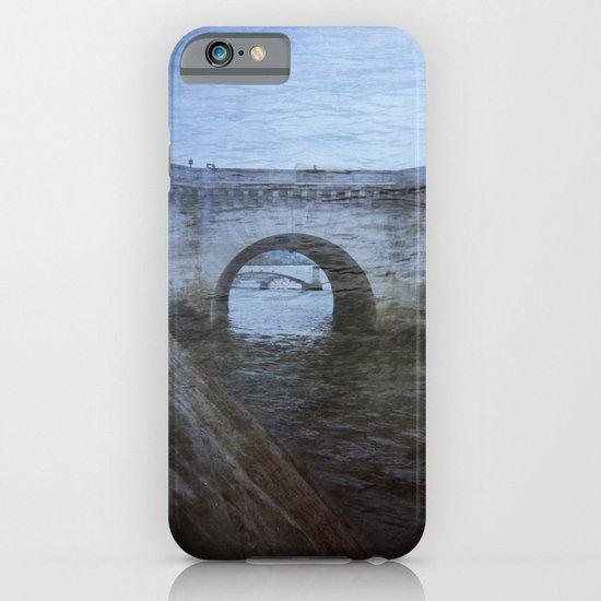 Paris Bridge & Seine Holga Double Exposure iPhone & iPod Case