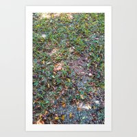 Green On The Ground Art Print