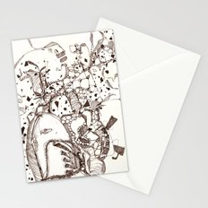 Paper and Pen Stationery Cards