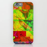 iPhone & iPod Case featuring Poseidon Glitch 01 by Tristan Bowersox McQueen