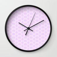 Honeycomb Doily  Wall Clock