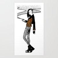 Torture Art Print
