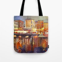 Night In Venice Part 2 Tote Bag