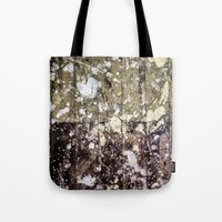 Rough Yin/Yang Planks Tote Bag