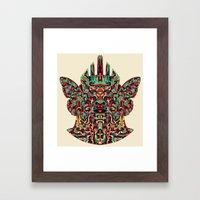 Dimensional Traveller I Framed Art Print