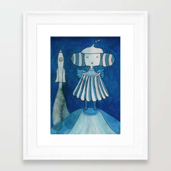 Moonlanding Framed Art Print