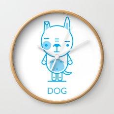 #29 Dog Wall Clock