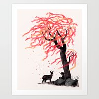 Wind In The Willows Art Print