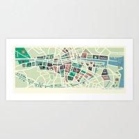 Baile Átha Cliath (Dublin) Art Print