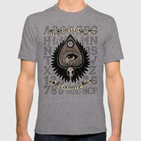 Planchette Mens Fitted Tee Tri-Grey SMALL