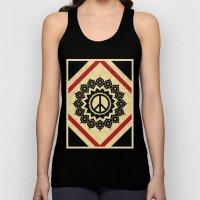 Peace Mandala Unisex Tank Top