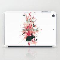 Off To Wonderland iPad Case