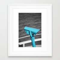 What Will you See? Framed Art Print