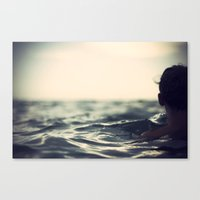 Out into... Canvas Print