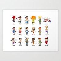 Super Street Fighter II … Art Print