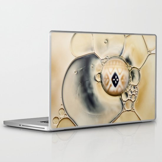 oil and water abstract Laptop & iPad Skin