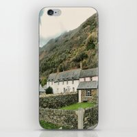 Boscastle  Cottages iPhone & iPod Skin