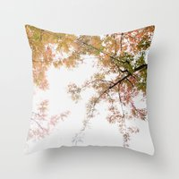Autumn Origami Throw Pillow