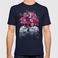 Censored Serenity Mens Fitted Tee Navy SMALL