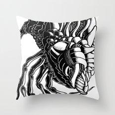 Flea Throw Pillow