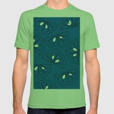 LiMe Mens Fitted Tee Grass SMALL