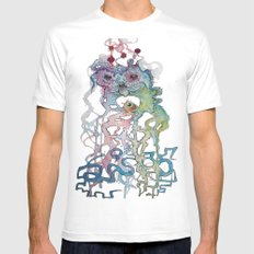 Creature SMALL White Mens Fitted Tee