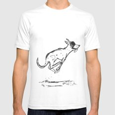 Bandito Oblivion Mens Fitted Tee White SMALL