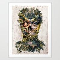 The Gatekeeper Surreal Dark Fantasy Art Print