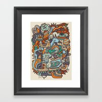 Punky Redux Framed Art Print
