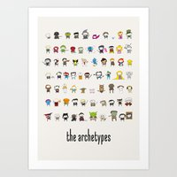 Archetypes Art Print