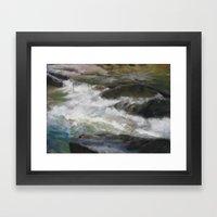 Rapids Framed Art Print