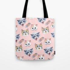 Cat Attack Tote Bag