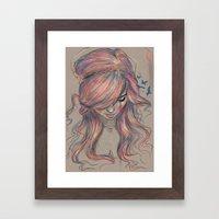 Colourblind Framed Art Print