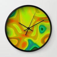rejuvenation of spirit Wall Clock
