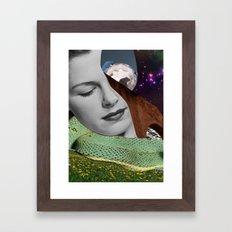 Dreaming by Zabu Stewart Framed Art Print